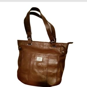 Grace Adelle Brown Leather Purse